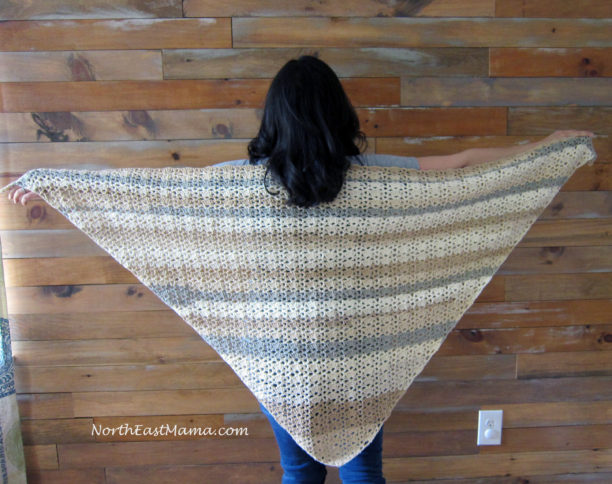 shawl crochet pattern by NorthEastMama